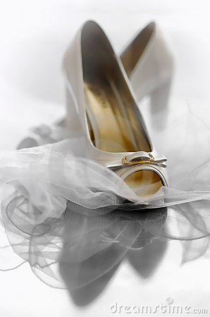 Free Wedding Shoes Royalty Free Stock Photography - 14805487