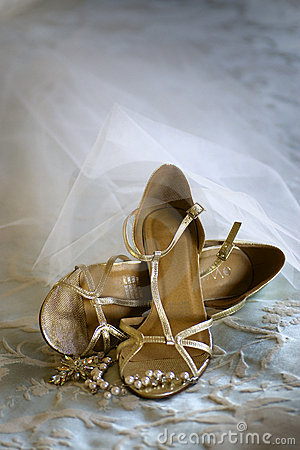 Free Wedding Shoes Royalty Free Stock Photos - 17667998