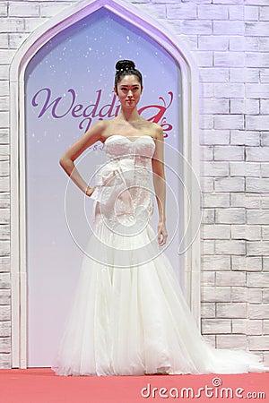 Wedding show at Suntec City Singapore Editorial Stock Image
