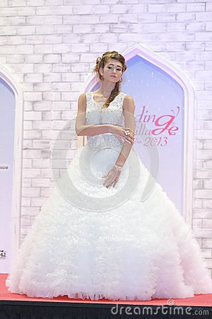 Wedding show at Suntec City Singapore Editorial Stock Photo