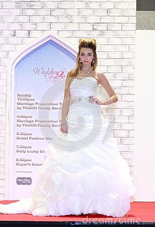 Wedding show at Suntec City Singapore Editorial Stock Image