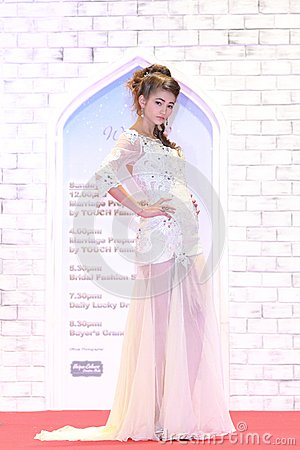 Wedding show at Suntec City Singapore Editorial Image