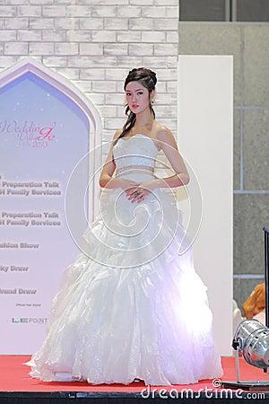 Wedding show at Suntec City Singapore Editorial Photography