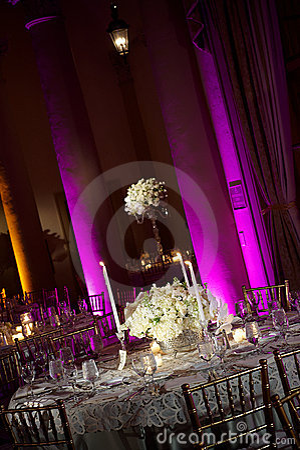 Free Wedding Table Royalty Free Stock Photo - 14637455