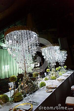 Free Wedding Table Stock Image - 35924451