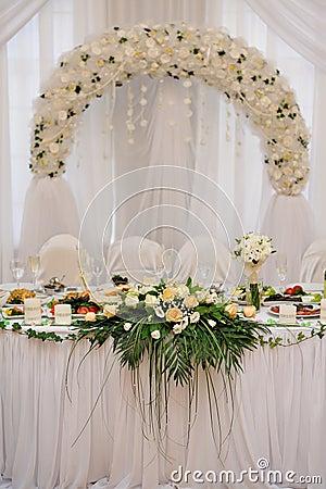 Bride Groom Wedding Table Decorations