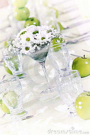 Decoration table wedding