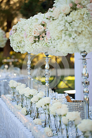 Free Wedding Table Decor Stock Images - 30441104