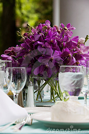 Free Wedding Table Decoration Royalty Free Stock Image - 7424946