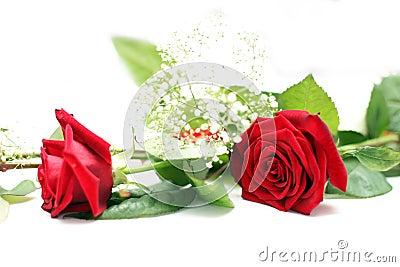 Wedding table decoration rose