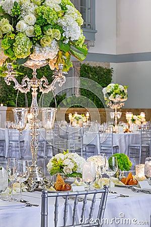 Wedding Table Preparations