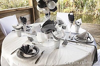 Wedding table setting 10
