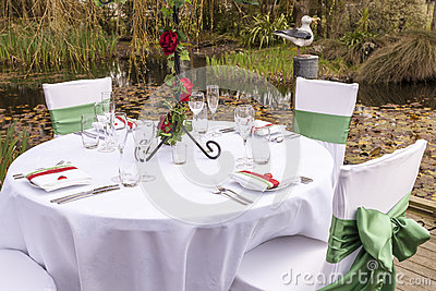 Wedding table setting 4