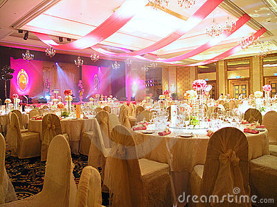 Wedding Table setting and decoration