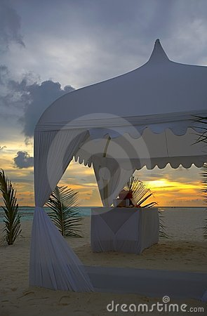 Free Wedding Tent Royalty Free Stock Photography - 3848077