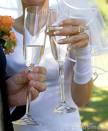 Free Wedding Toast Stock Photo - 398950