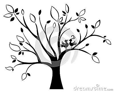 wedding tree stock photo image 36564670. Black Bedroom Furniture Sets. Home Design Ideas