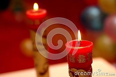 Weddings candles