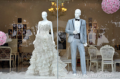 Weddings dress store