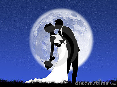 Weddings in the moon