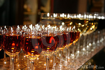 Weddings Tall Wine Glasses