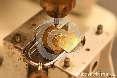 Weddng Lock Engraving
