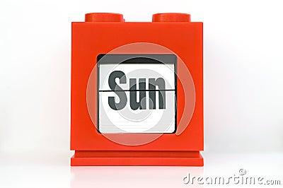 Week , Sun.