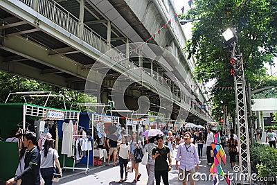 Weekend market Editorial Image