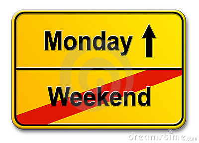 Weekend-Monday