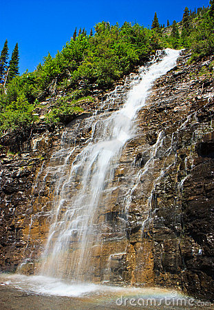Weeping Wall, Glacier National Park, Montana