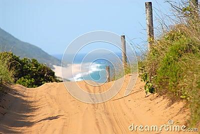 Weg in Mozambique
