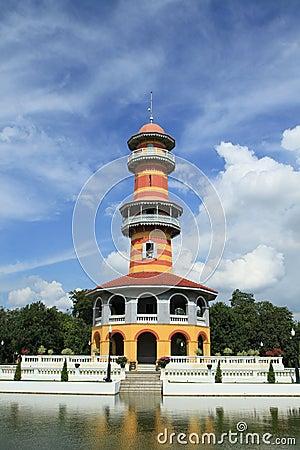 Wehart Chamrun Throne in Bang pa-in , Thailand