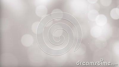 Weiße Kristall-abstrakter Hintergrund stock footage