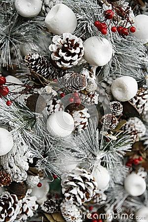 wei er weihnachtsbaum stockfotografie bild 10544932. Black Bedroom Furniture Sets. Home Design Ideas