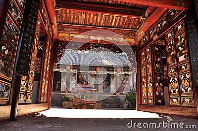 Wei bao shan, Yunnan, China