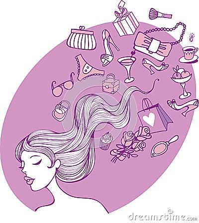 Weibliche Gedanken