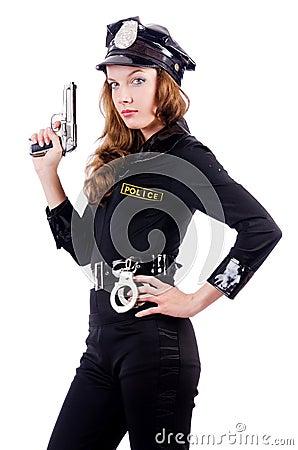 Weibliche Polizei