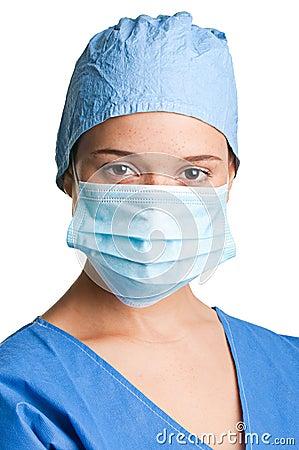 Weiblicher Chirurg