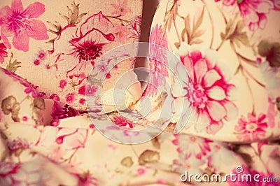 Weiblicher Spitzen- Unterwäschehintergrund