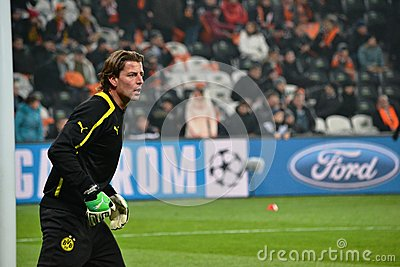 Weidenfeller is ready to play Editorial Stock Photo