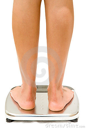 Free Weighing Scales Isolated Stock Photography - 2715872