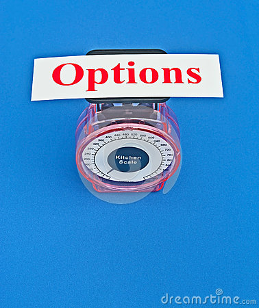 Free Weighing The Options Royalty Free Stock Photography - 40329707