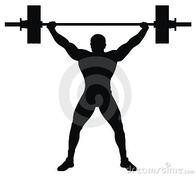 Free Weight Lifter Athlete Stock Photography - 13318122