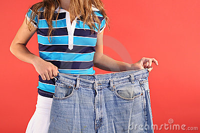 Weight loss fat jeans