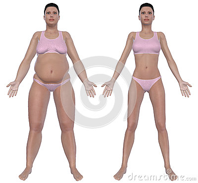 Weight Loss Before And After Front View