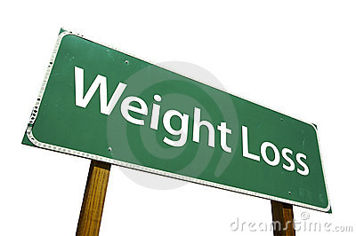 Weight Loss - Road Sign.