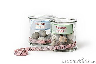 Weight Loss Slimming Jars