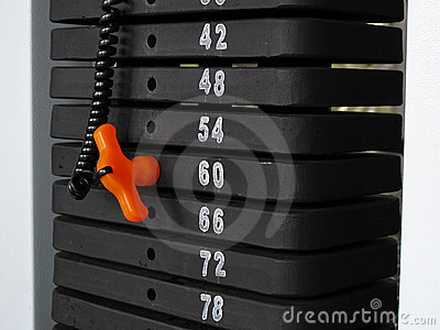 Weight machine selection