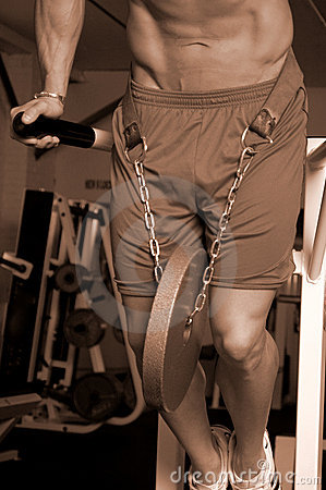 Weighted dips sepia