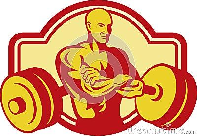 Weightlifter Body builder weights